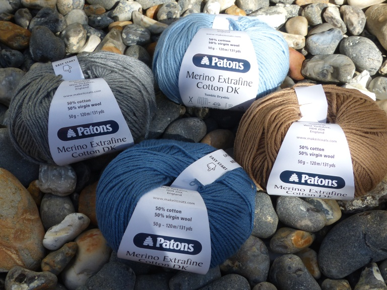 Coastal colour choices. They blend in well with the beach pebbles...
