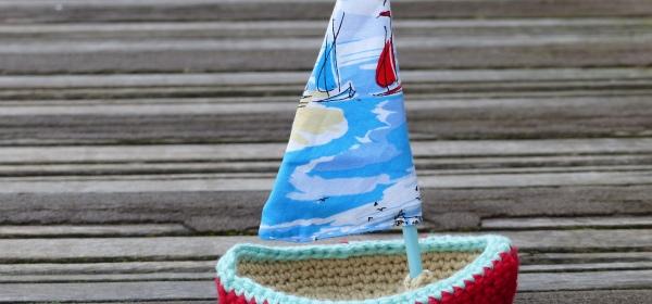Crochet Sailing Boat Coastal Crochet