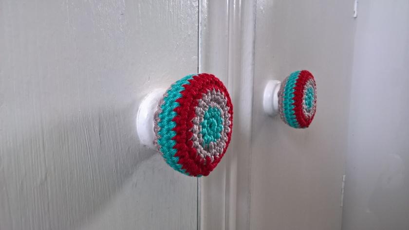 Crocheted Door Knob Covers Free Pattern Coastal Crochet