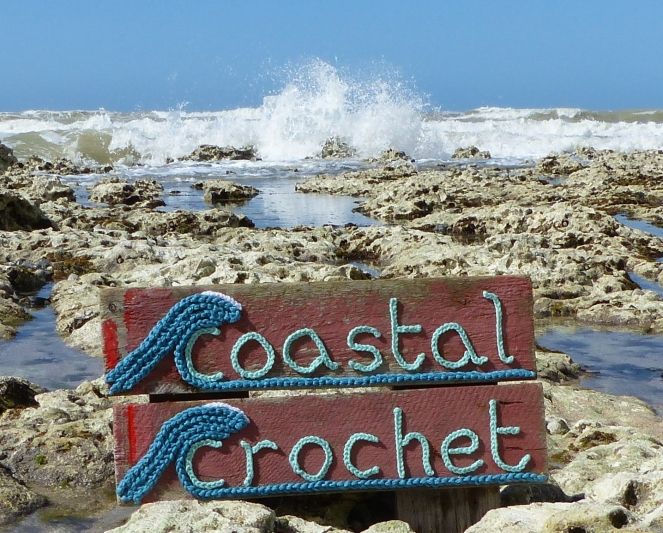 Coastal Crochet sign