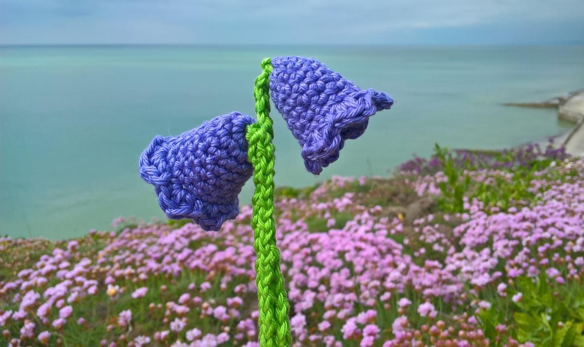 Crocheted Bluebells Coastal Crochet
