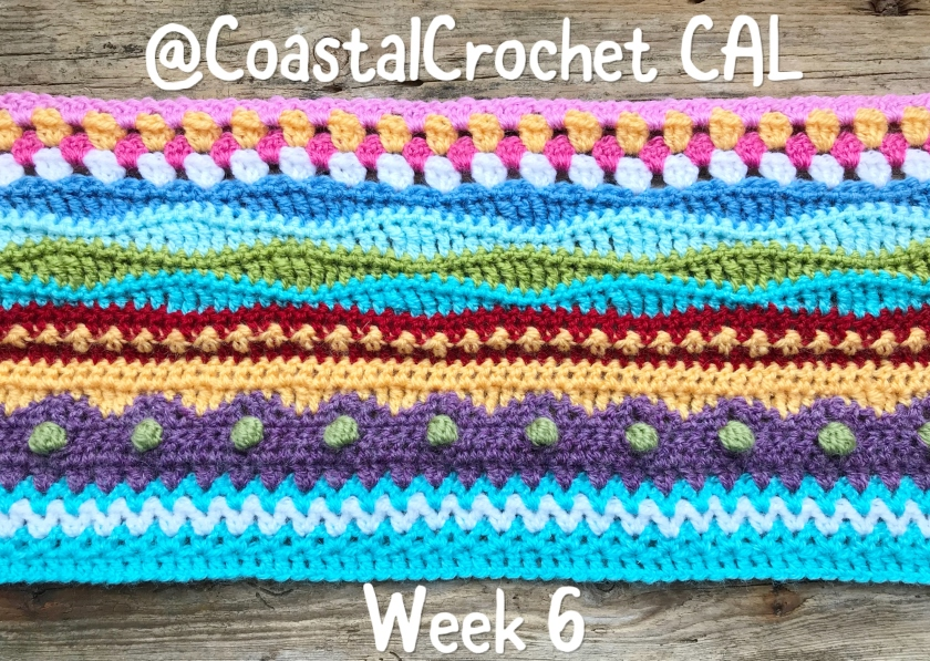 Seaside Stash Busting Blanket – Week 6 – Coastal Crochet