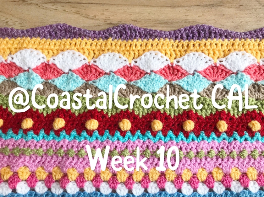 Seaside Stash Busting Blanket Week 10 Coastal Crochet