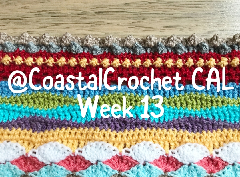 Seaside Stash Busting Blanket Week 13 Coastal Crochet