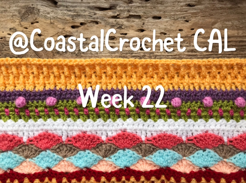 Seaside Stash Busting Blanket Week 22 Coastal Crochet