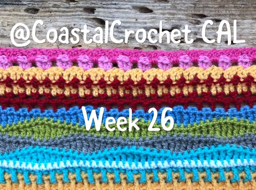 Seaside Stash Busting Blanket Week 26 Coastal Crochet